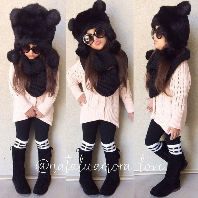 Cute fall outfits ideas for toddler girls 17