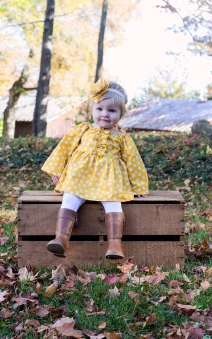 Cute fall outfits ideas for toddler girls 31