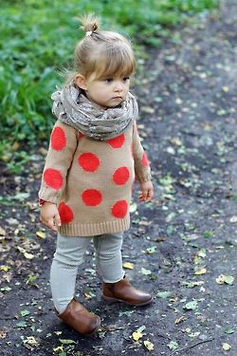 Cute fall outfits ideas for toddler girls 44