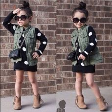 Cute fall outfits ideas for toddler girls 47