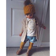 Cute fall outfits ideas for toddler girls 8