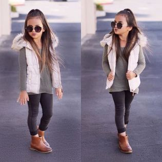 Cute fall outfits ideas for toddler girls 89