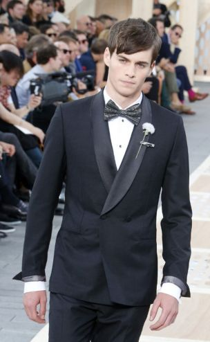 Elegant men's formal wear with tuxedo and suits 104