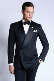 Elegant men's formal wear with tuxedo and suits 118