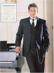 Elegant men's formal wear with tuxedo and suits 126