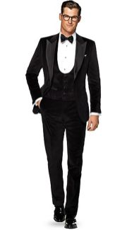 Elegant men's formal wear with tuxedo and suits 15