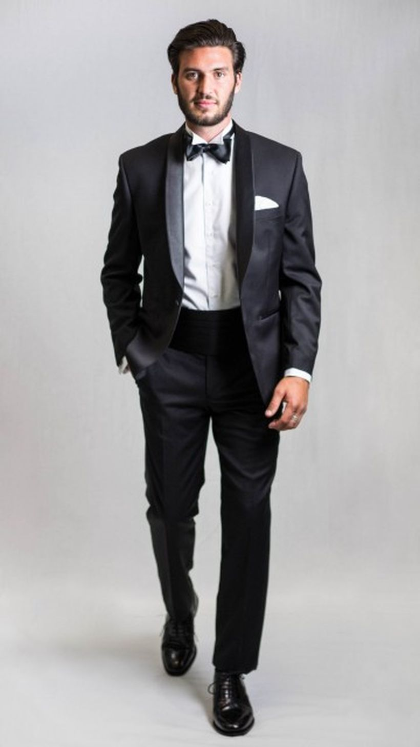 Elegant men's formal wear with tuxedo and suits 16