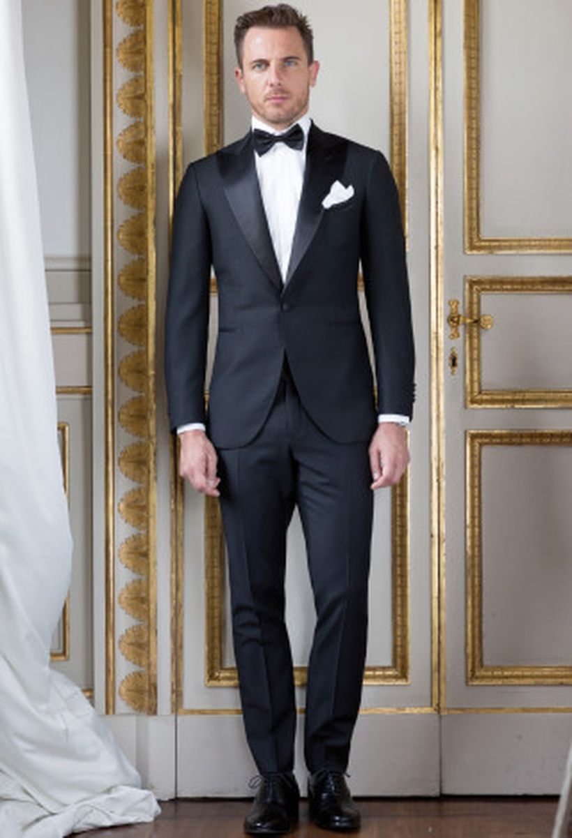 Elegant men's formal wear with tuxedo and suits 21