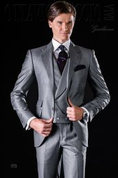 Elegant men's formal wear with tuxedo and suits 24