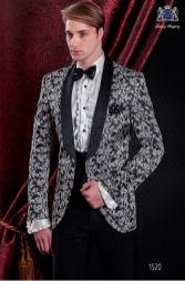 Elegant men's formal wear with tuxedo and suits 3