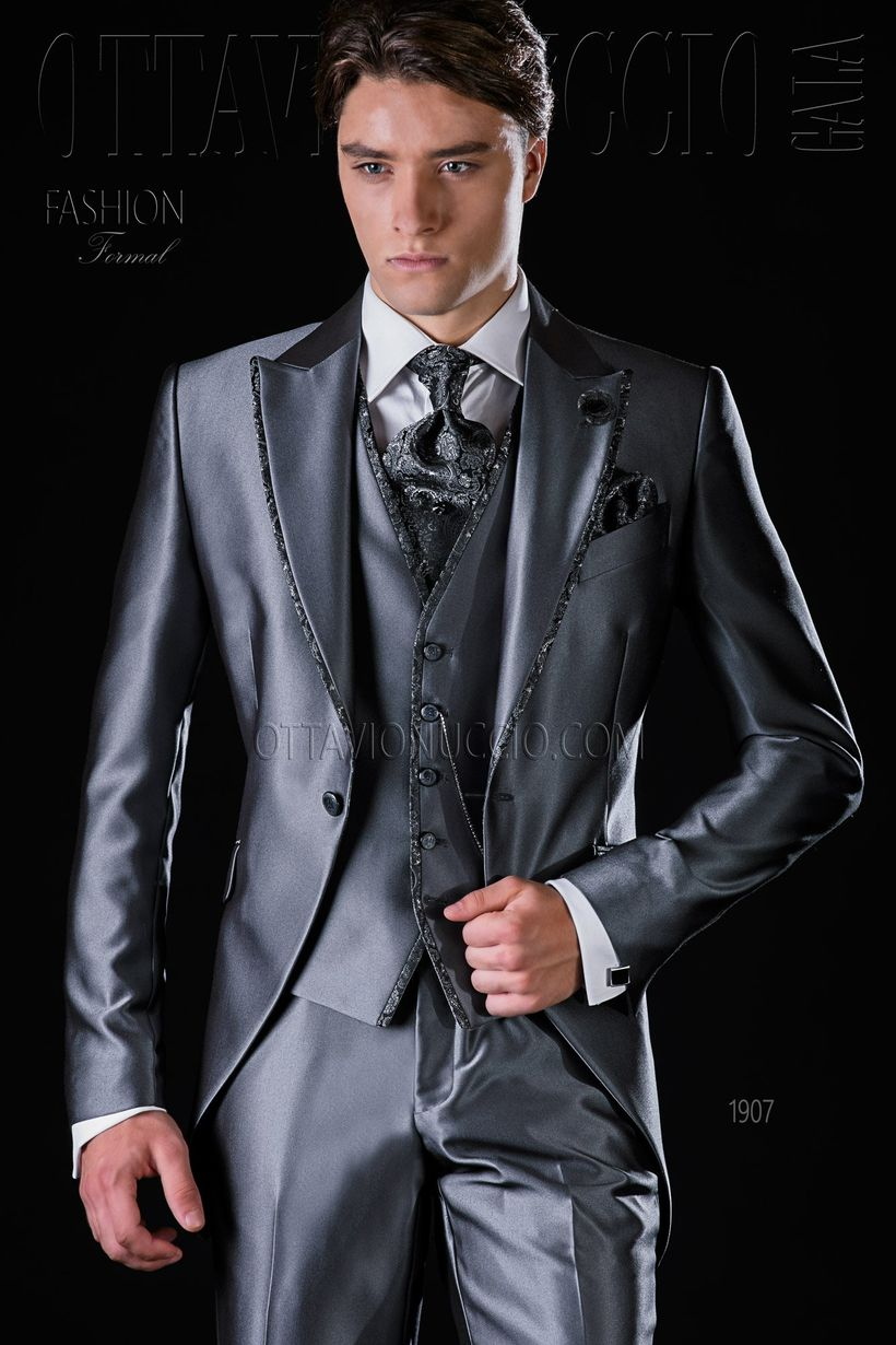 Elegant men's formal wear with tuxedo and suits 42