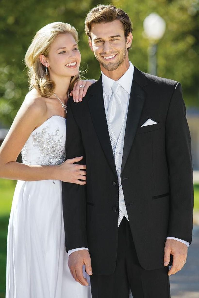 Elegant men's formal wear with tuxedo and suits 53