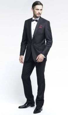 Elegant men's formal wear with tuxedo and suits 57