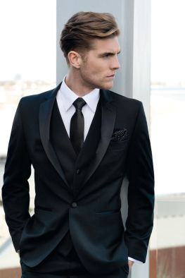 Elegant men's formal wear with tuxedo and suits 58