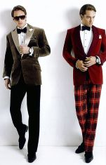 Elegant men's formal wear with tuxedo and suits 62
