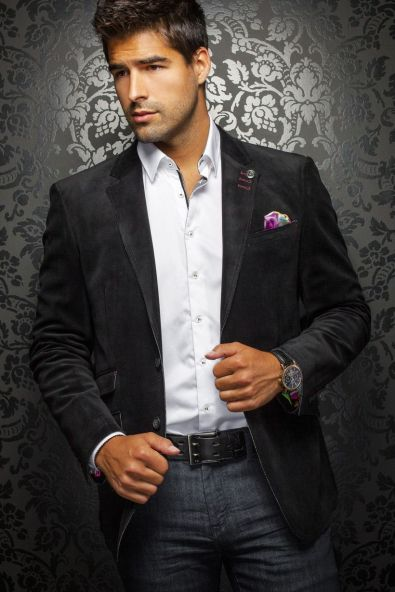 Elegant men's formal wear with tuxedo and suits 64