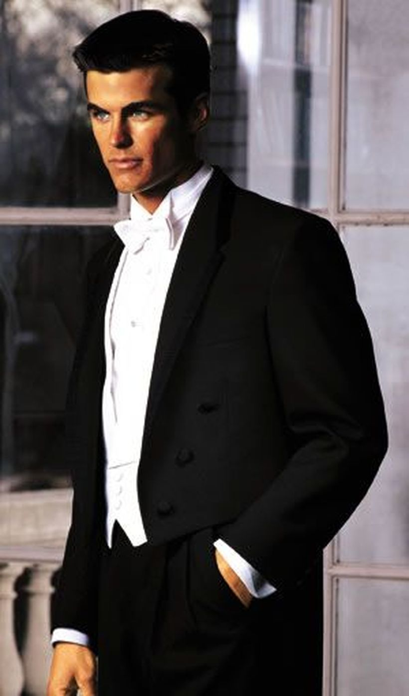 Elegant men's formal wear with tuxedo and suits 86