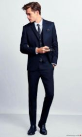 Elegant men's formal wear with tuxedo and suits 87