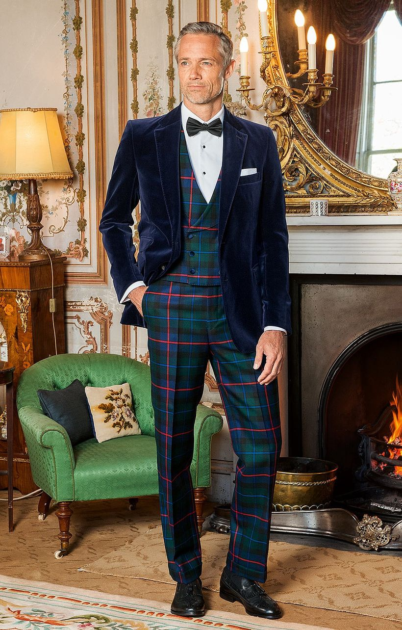 Elegant men's formal wear with tuxedo and suits 89