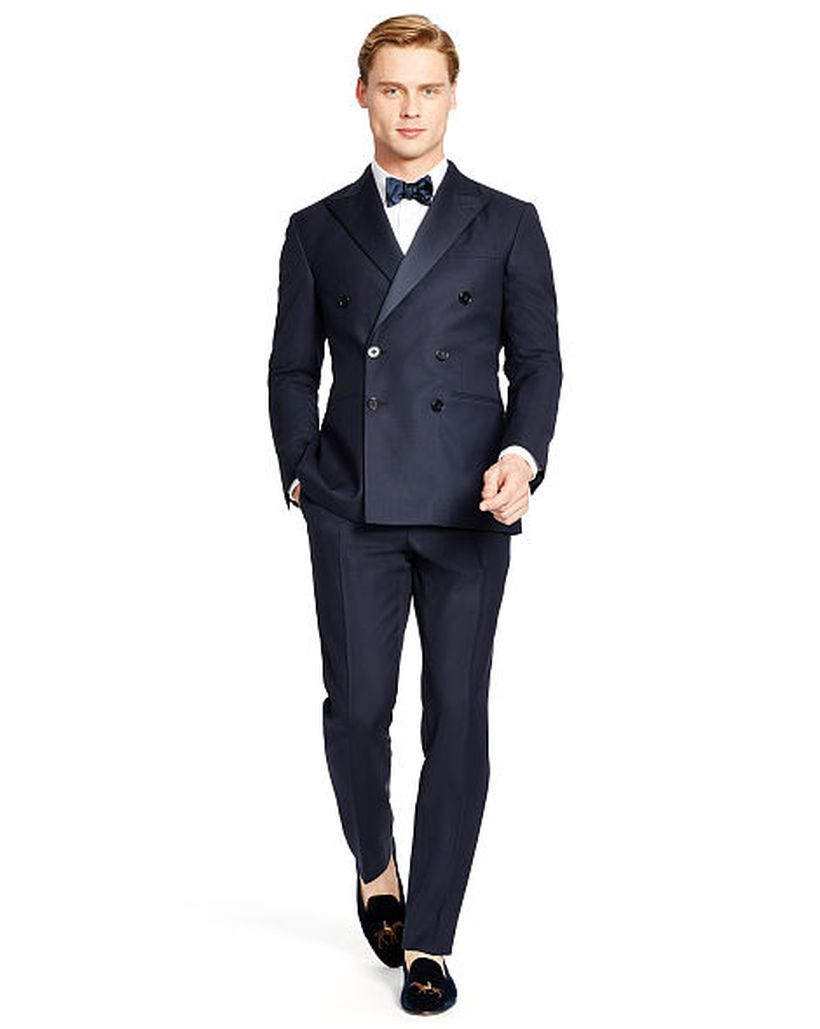 Elegant men's formal wear with tuxedo and suits 9