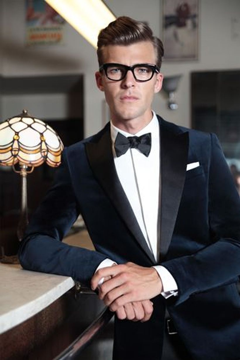 Elegant men's formal wear with tuxedo and suits 93