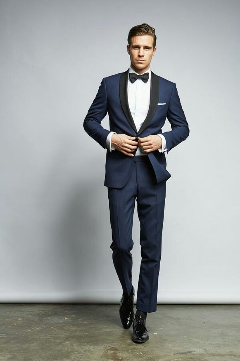Elegant men's formal wear with tuxedo and suits 98