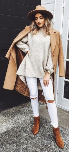Fashionable outfit style for winter 2017 1