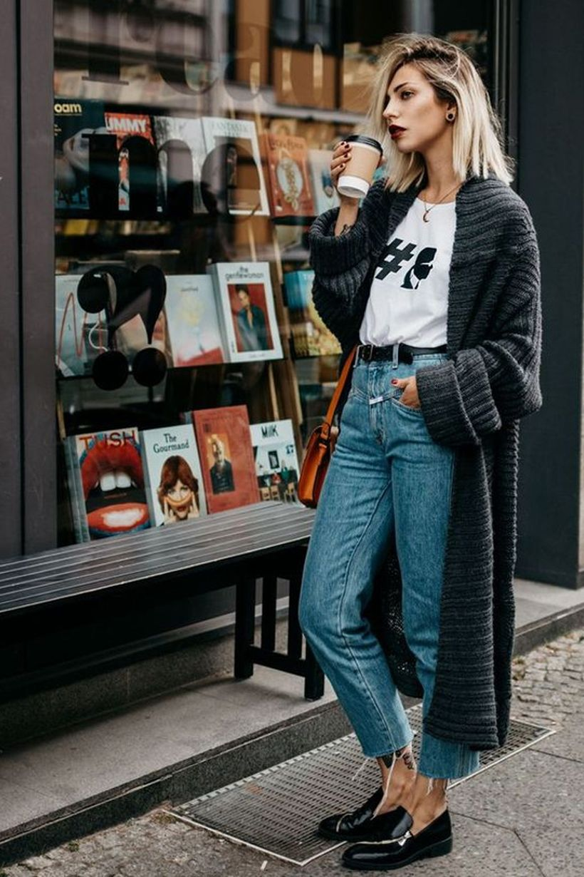 Fashionable outfit style for winter 2017 11