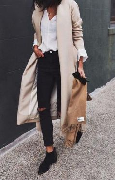 Fashionable outfit style for winter 2017 13