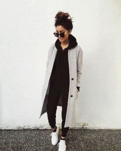 Fashionable outfit style for winter 2017 17