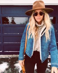 Fashionable outfit style for winter 2017 22