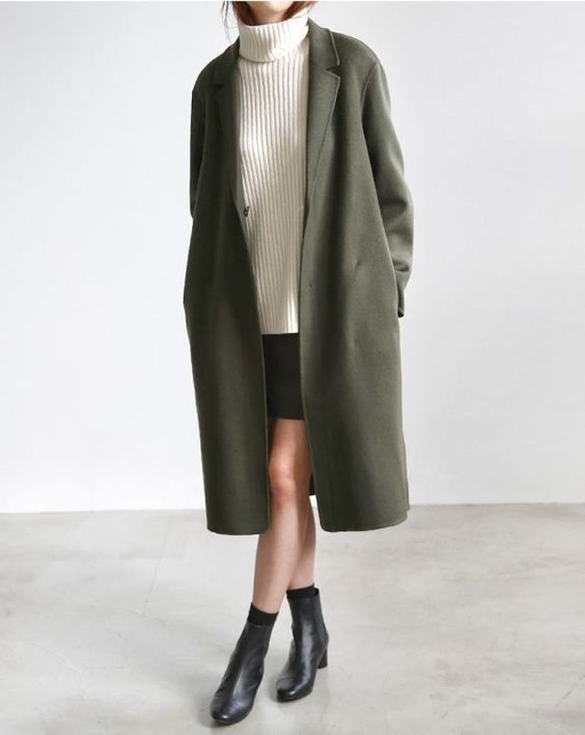 Fashionable outfit style for winter 2017 59