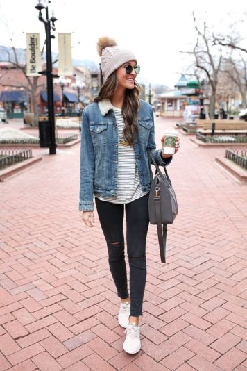 Fashionable outfit style for winter 2017 7