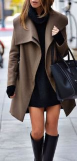 Fashionable outfit style for winter 2017 73