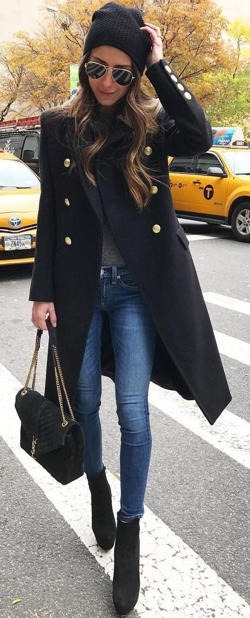 Fashionable outfit style for winter 2017 74