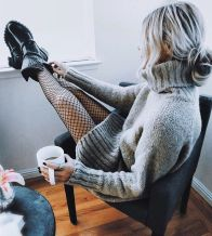 Fashionable outfit style for winter 2017 83