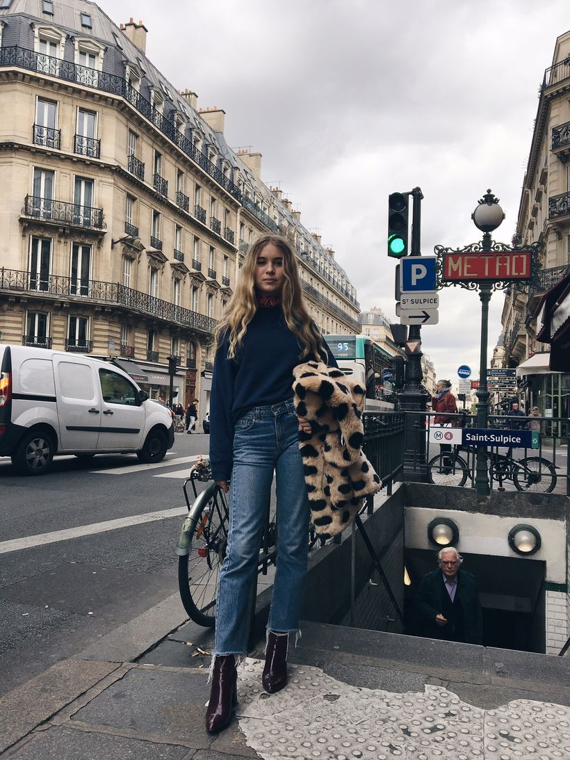 Fashionable outfit style for winter 2017 9