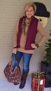Fashionable over 50 fall outfits ideas 103