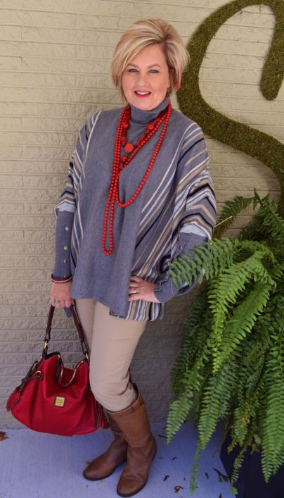 Fashionable over 50 fall outfits ideas 115
