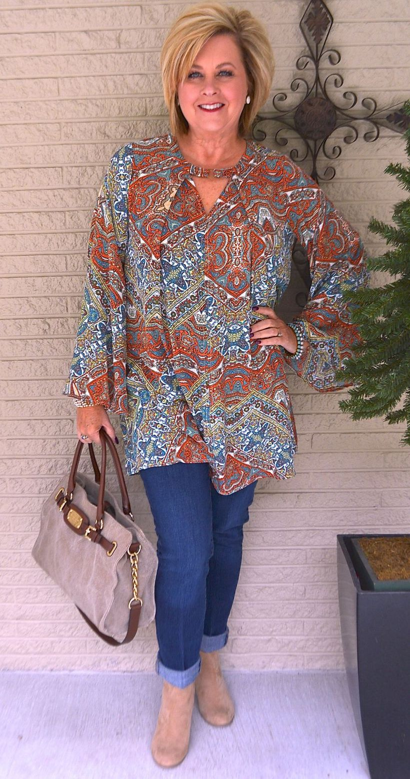 Fashionable over 50 fall outfits ideas 134