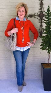 Fashionable over 50 fall outfits ideas 18