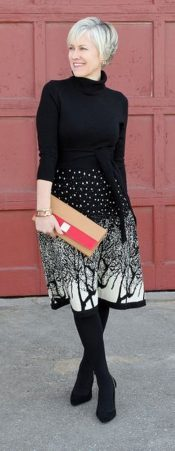 Fashionable over 50 fall outfits ideas 32
