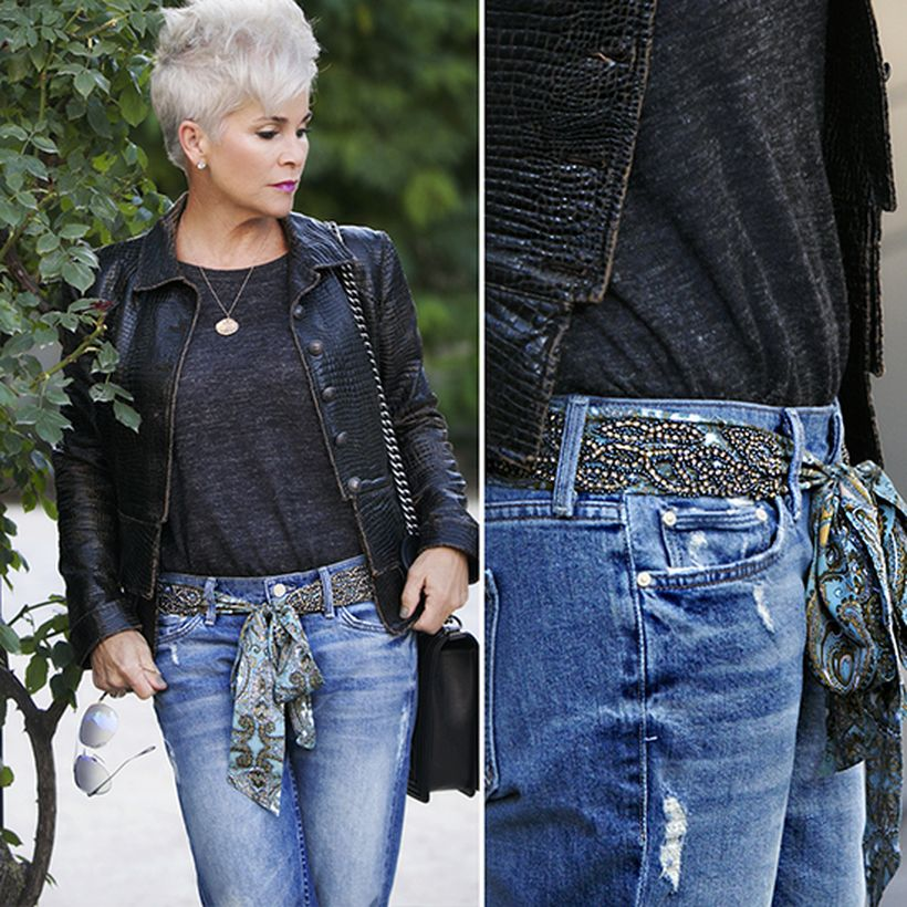Fashionable over 50 fall outfits ideas 49