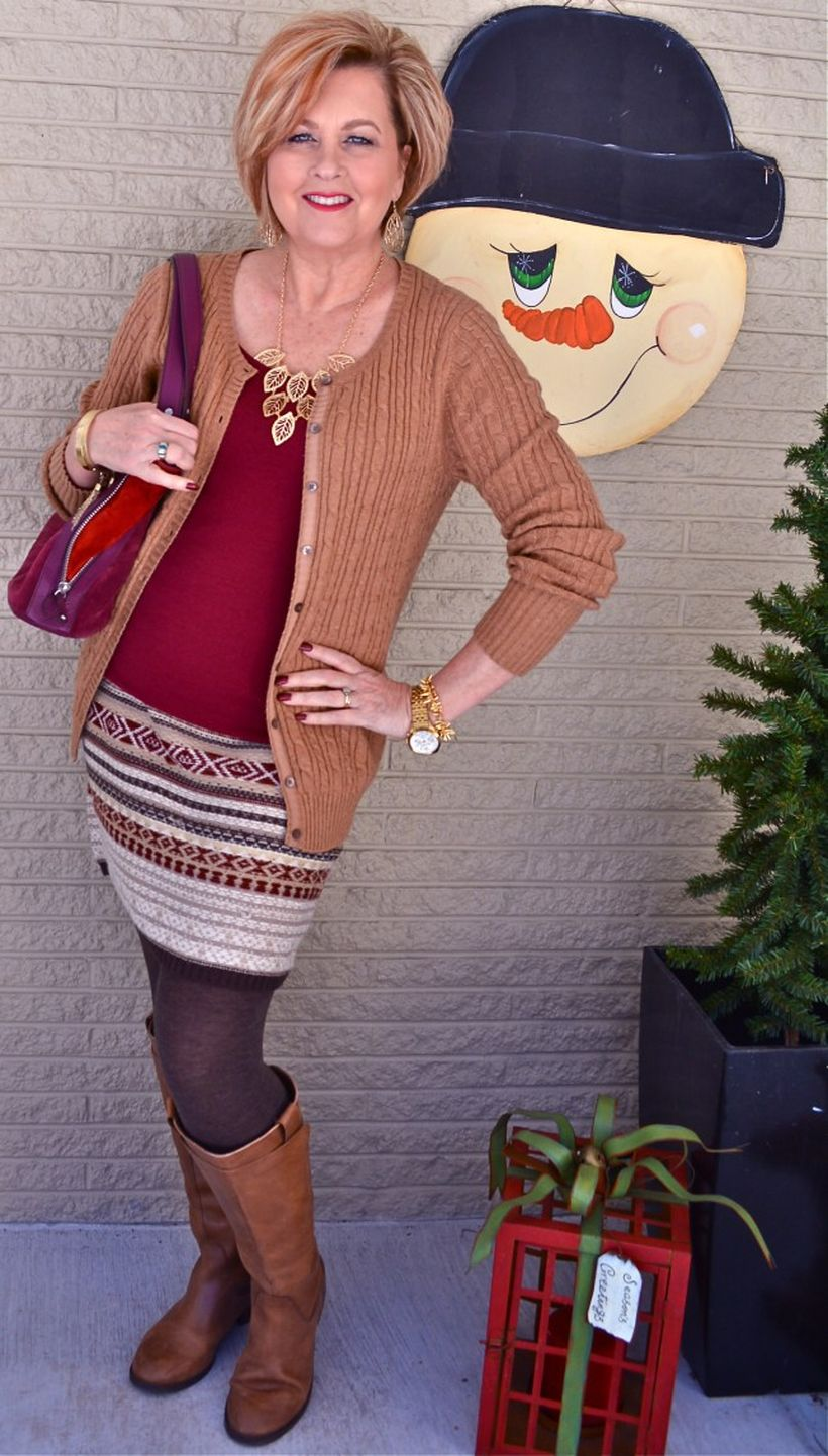 Fashionable over 50 fall outfits ideas 6 - Fashion Best