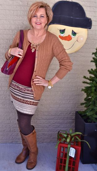 Fashionable over 50 fall outfits ideas 6
