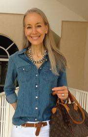 Fashionable over 50 fall outfits ideas 75