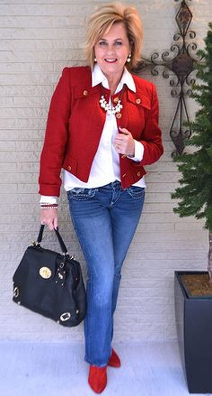 Fashionable over 50 fall outfits ideas 90