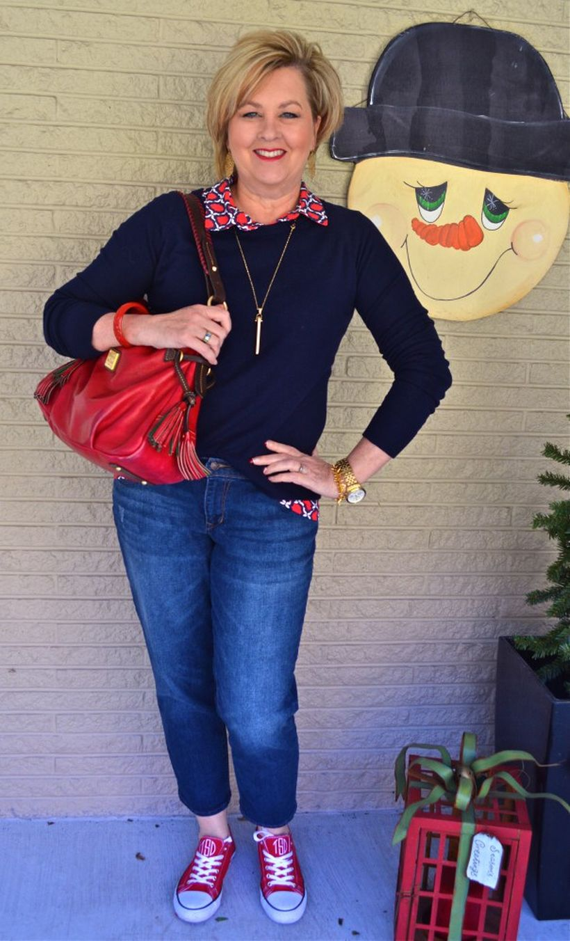 Fashionable over 50 fall outfits ideas 93