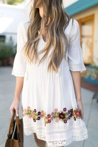 Most cute short white dresses outfits design ideas 30