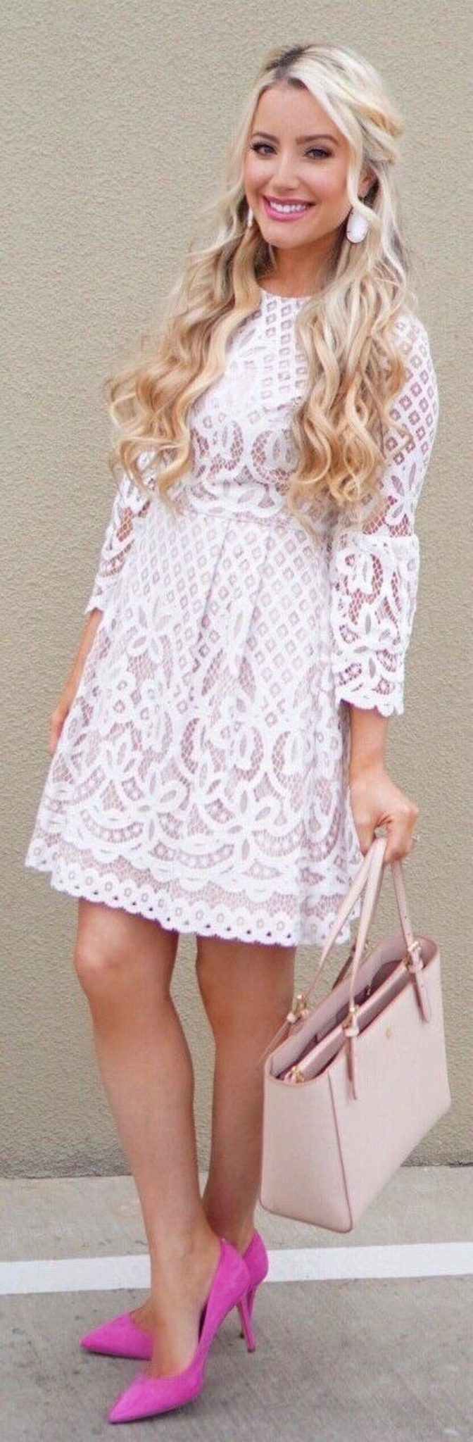 Most cute short white dresses outfits design ideas 38